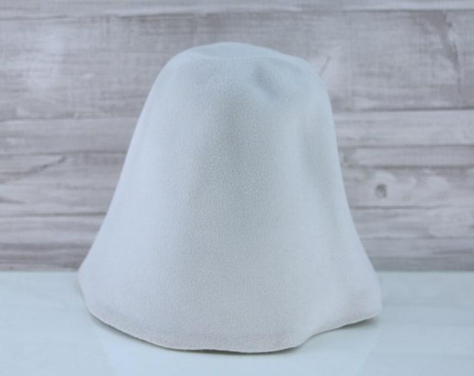 Dove Grey | Velour | Rabbit Fur Felt Hat Bodies | Cones