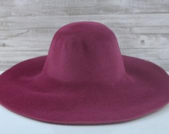 Wine Pink | Velour | Rabbit Fur Felt Hat Bodies | Capelines