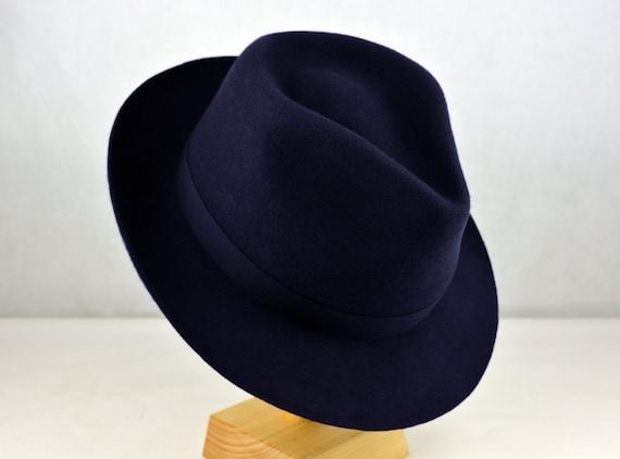 25181335406dd The Amazon - Wool Felt Handmade Teardrop Fedora Hat - Medium Brim - Men  Women