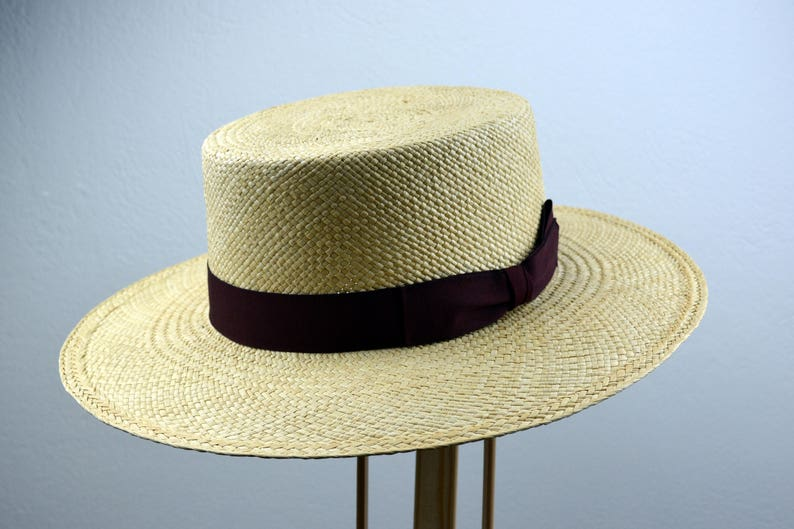 1930s Style Mens Hats and Caps Panama Hat The TRIBECA Natural Toquilla Straw Wide Brim Bolero Hat Men Women Summer Hats $178.05 AT vintagedancer.com