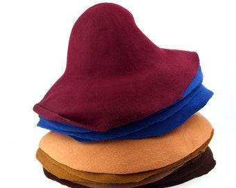 Standard Wool Felt Hat Bodies - Flares