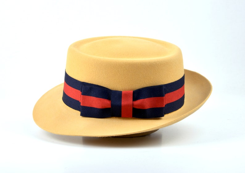1920s Fashion & Clothing | Roaring 20s Attire Womens Fedora | The ALEKHINE | Biscuit Fedora Hat For Women | Unique Felt Hat For Women $200.54 AT vintagedancer.com