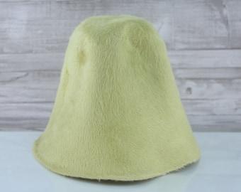 Pear Green | Long Hair | Rabbit Fur Felt Hat Bodies | Melusine Cones