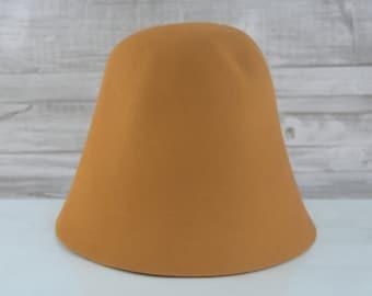 Ginger | Rabbit Fur Felt Cones | Hat Bodies