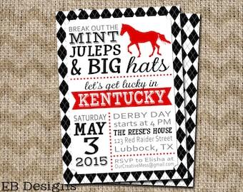 Kentucky Derby Invitation