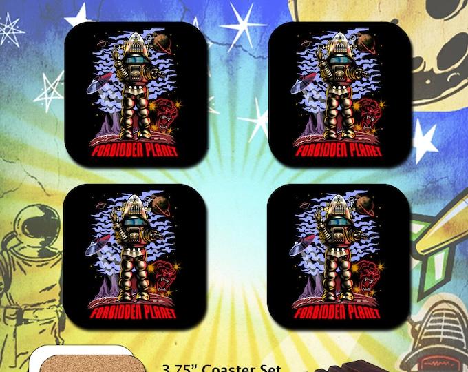 Forbidden Planet / Robby the Robot / Coaster Set