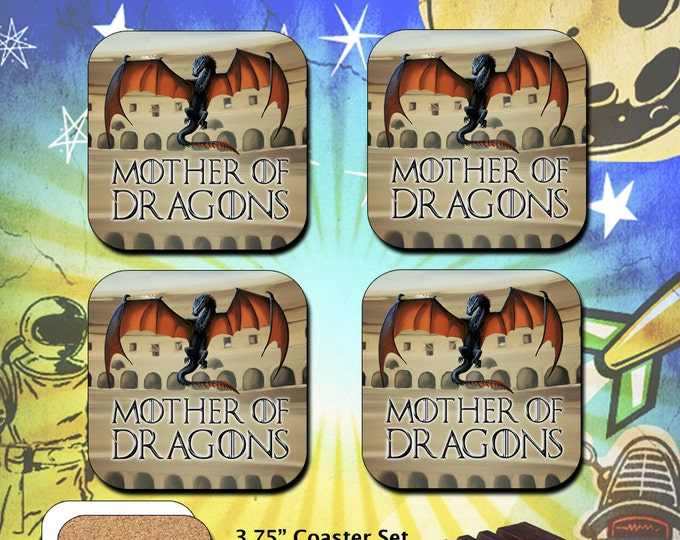 Game of Thrones / Mother of Dragons / Coaster Set