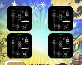 ZNation / Z-Whacker Schematic / Coaster Set