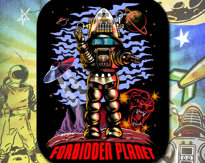 Forbidden Planet / Robby the Robot Waves / Mouse Pad