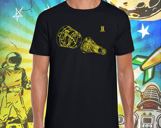 Project Gemini / Men's Black T-Shirt