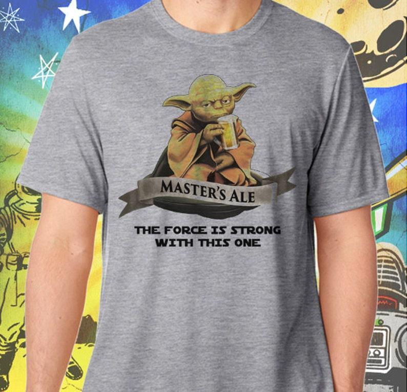 Star Wars / Master Yoda Ale / Men's Gray Performance image 0