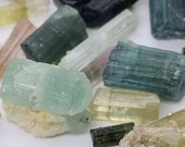 Mixed Parcel Natural tourmaline rock and mineral watermelon tourmaline Indicolite collection rough rock raw lot rubellite tourmaline
