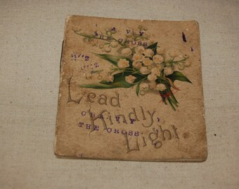 Vintage original 1920's Christian tract 'Lead Kindly Light'