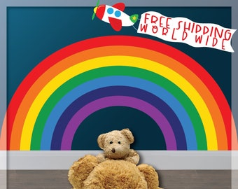 Delicieux Rainbow Wall Decal, Rainbow Wall Decor, Kids Bedroom Rainbows, Rainbow Room  Decor, Nursery Wall Decal, Playroom Decor, Toddler Bedroom Decor