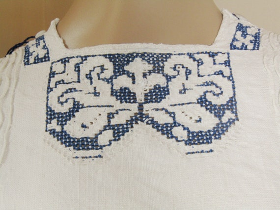 Antique Romanian peasant blouse and skirt from Tr… - image 9