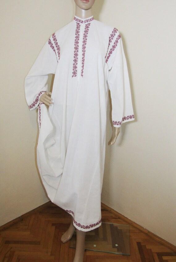 Antique Romanian peasant dress  ethnic Romanian c… - image 6