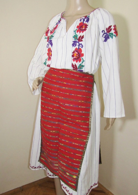 Romanian peasant costume, Romanian ethnic outfit … - image 2