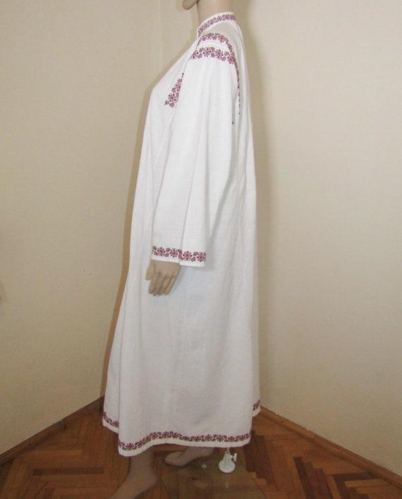 Antique Romanian peasant dress  ethnic Romanian c… - image 4