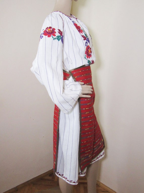 Romanian peasant costume, Romanian ethnic outfit … - image 6