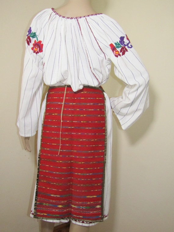 Romanian peasant costume, Romanian ethnic outfit … - image 7