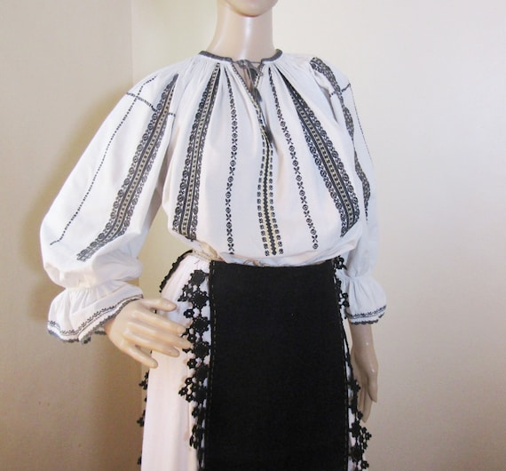 1920 Romanian peasant costume, Romanian ethnic out