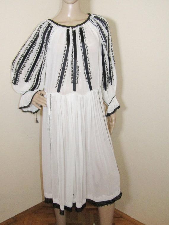 Antique RARE Romanian dress from Transylvania , S… - image 2