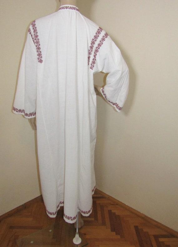 Antique Romanian peasant dress  ethnic Romanian c… - image 3