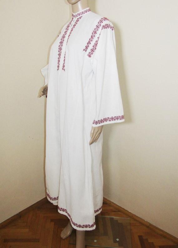 Antique Romanian peasant dress  ethnic Romanian c… - image 5
