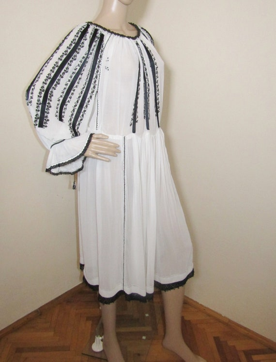 Antique RARE Romanian dress from Transylvania , S… - image 3