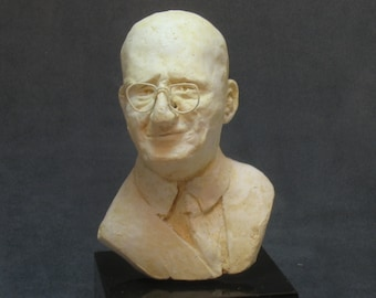 AA's co-founder, Dr. Bob  - bust