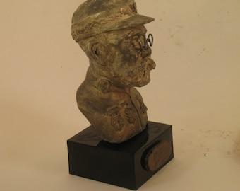 Sousa, John Philip - bust, antique bronze patina