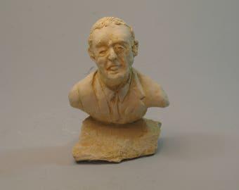 Borges - Jorge Luis Borges in hydrostone