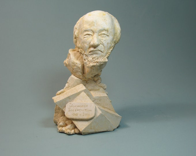 Solzhenitsyn: The Kiln of Determination - Bust of Alexander Solzhenitsyn