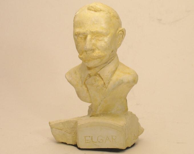 ELGAR- bust of Edward Elgar
