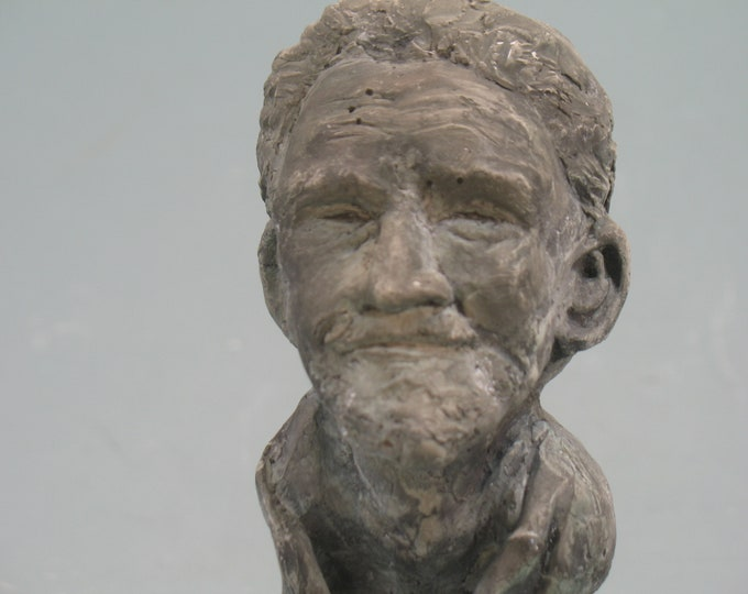 Ezra Pound - bust of the ultimate renegade poet