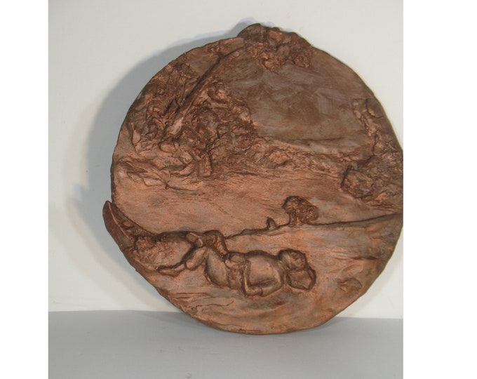 Hart Benton wall medallion