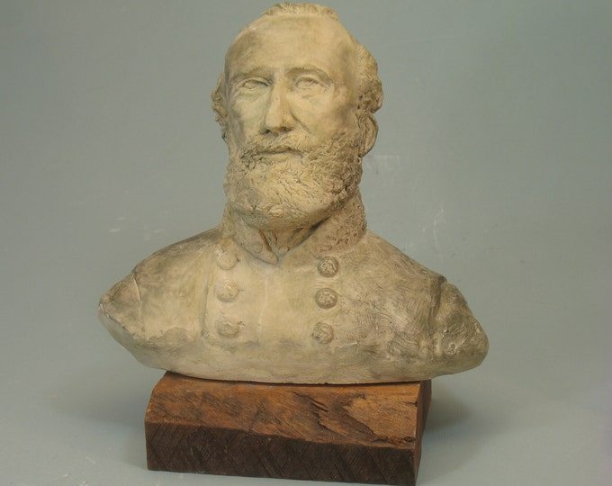 General Stonewall Jackson, BRONZE patina