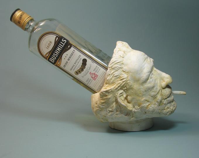 Featured listing image: Bukowski, Charles Bukowski ashtray, bottle holder & planter