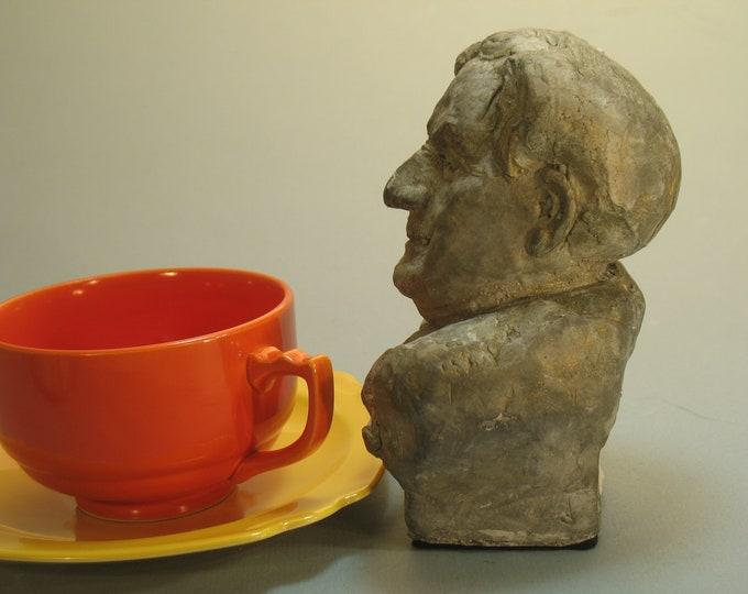 Vaughn-Williams, Ralph Vaughn-Williams bust in hydro-stone bronze patina