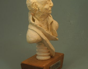Dumas - General of the Revolution, Caribbean Commander of the Army of Austria - bust