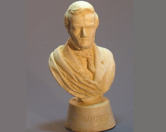 Wagner - reconstruction of 19th century statuette in antique white
