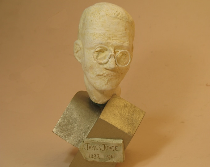 James Joyce bust withOUT iconic eyepatch