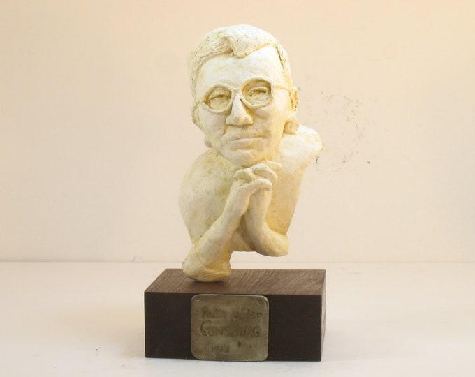 RBG - Ruth Bader Ginsburg in high density plaster