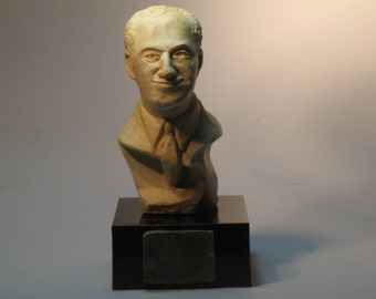 George Gershwin- bust of Composer in hydro-stone white