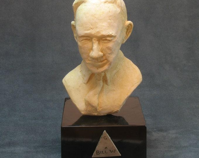Bill W. AA's co-founder-Bill Wilson, bust