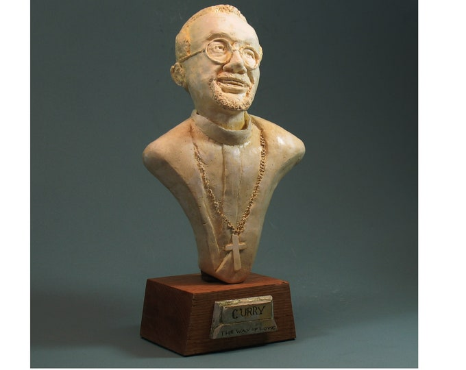Bishop Curry - Bust of Michael Curry, Presiding Bishop of The Episcopal Church