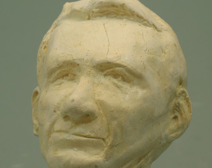 Claude Shannon - founder of Info Science - antique white finish