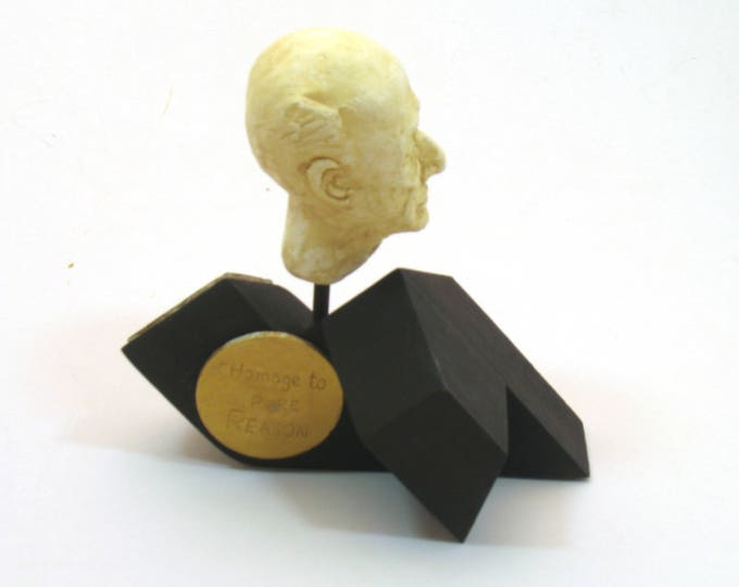 Schoenberg, Homage to Pure Reason -Arnold Schoenberg in hyrdocal plaster