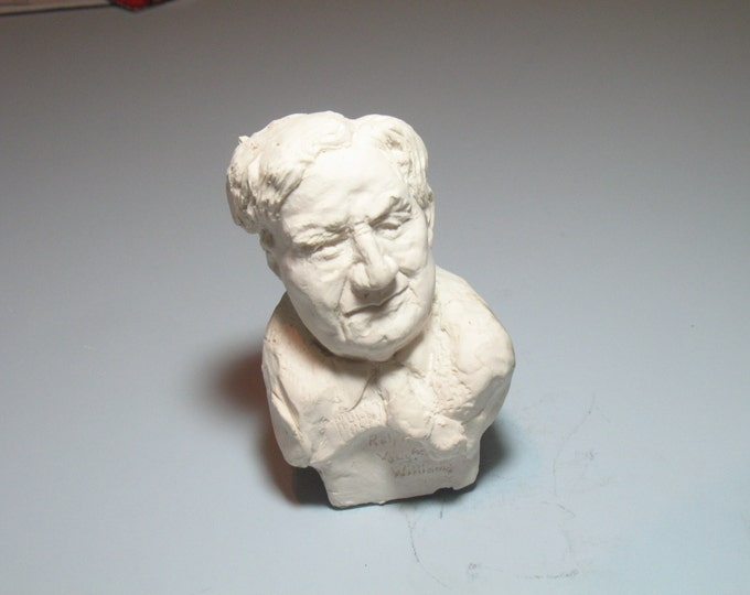 Ralph Vaughn-Williams- bust of Composer in hydro-stone bronze patina