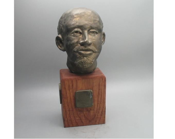 Featured listing image: W.E.B.Dubois - bust in hi-density gypsum